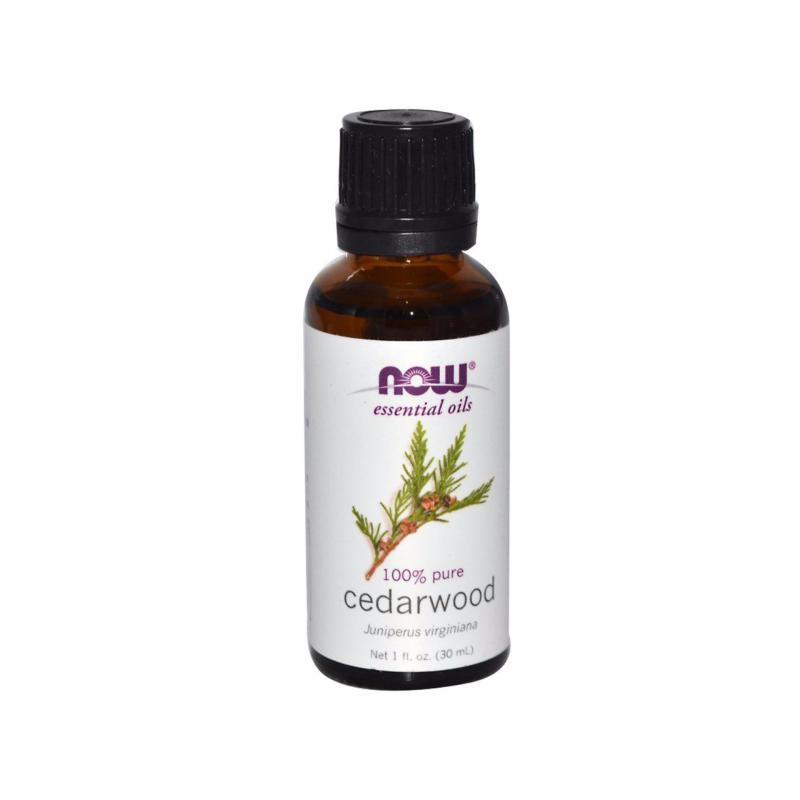 Buy Now Foods Essential Oils, Cedarwood, 1 fl oz (30 ml) Singapore