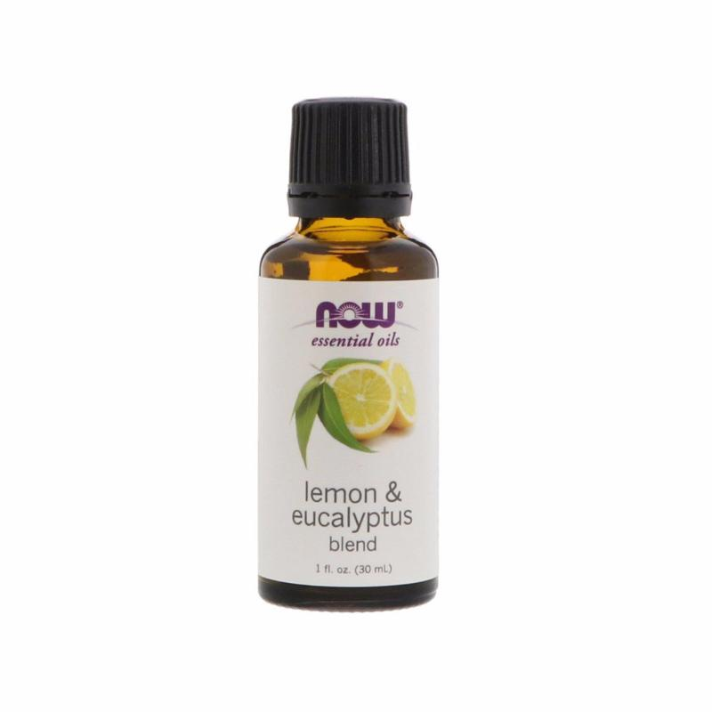 Buy Now Foods Essential Oils, Lemon & Eucalyptus Blend, 1 fl oz (30 ml) Singapore