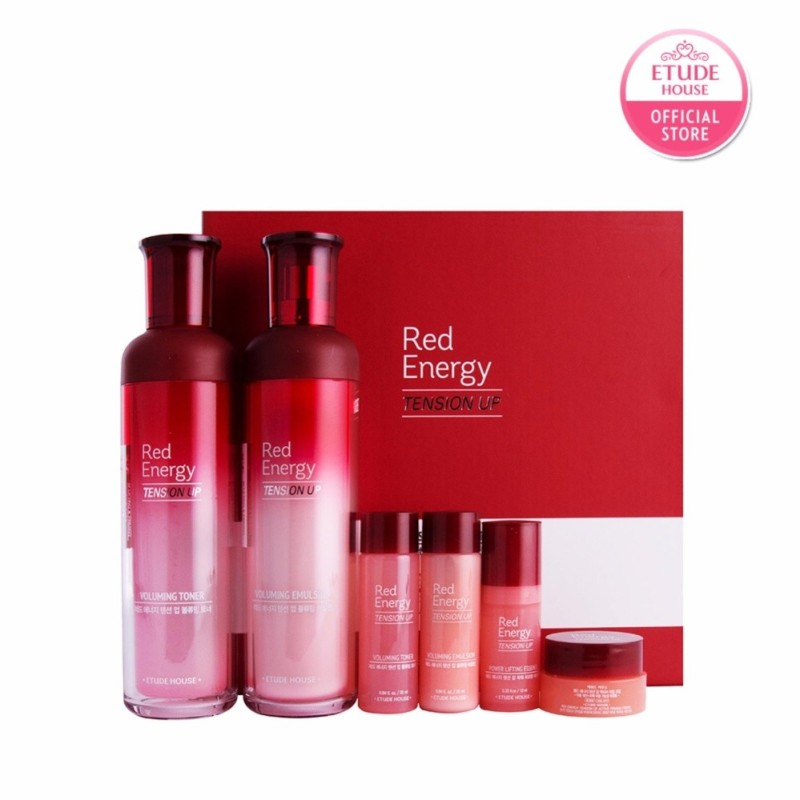Buy ETUDE HOUSE Red Energy Tension Up Skin Care Exclusive Set Singapore