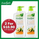 Price Eversoft Shower Foam Bundle Deep Nourish And Moisturise Avocado Argan Oil 800Ml X 2 Eversoft