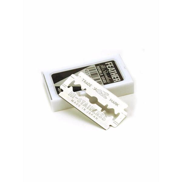Buy Feather Hi-Stainless Double Edge Blades (5packs of 5 blades) Singapore