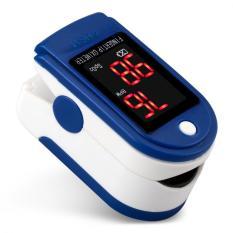 Coupon Fingertip Pulse Oximeter Digital Heart Rate Monitor Blue