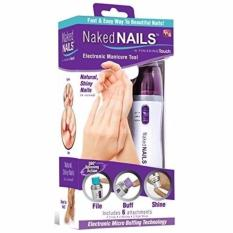 How Do I Get Finishing Touch N*k*d Nails Electronic Nail Care System File Buff And Shine Effortlessly