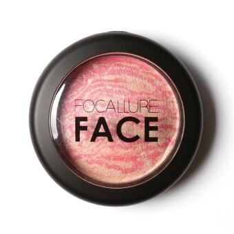 Focallure New Natural Powder Pressed Baked Blush Makeup Cosmetics 2