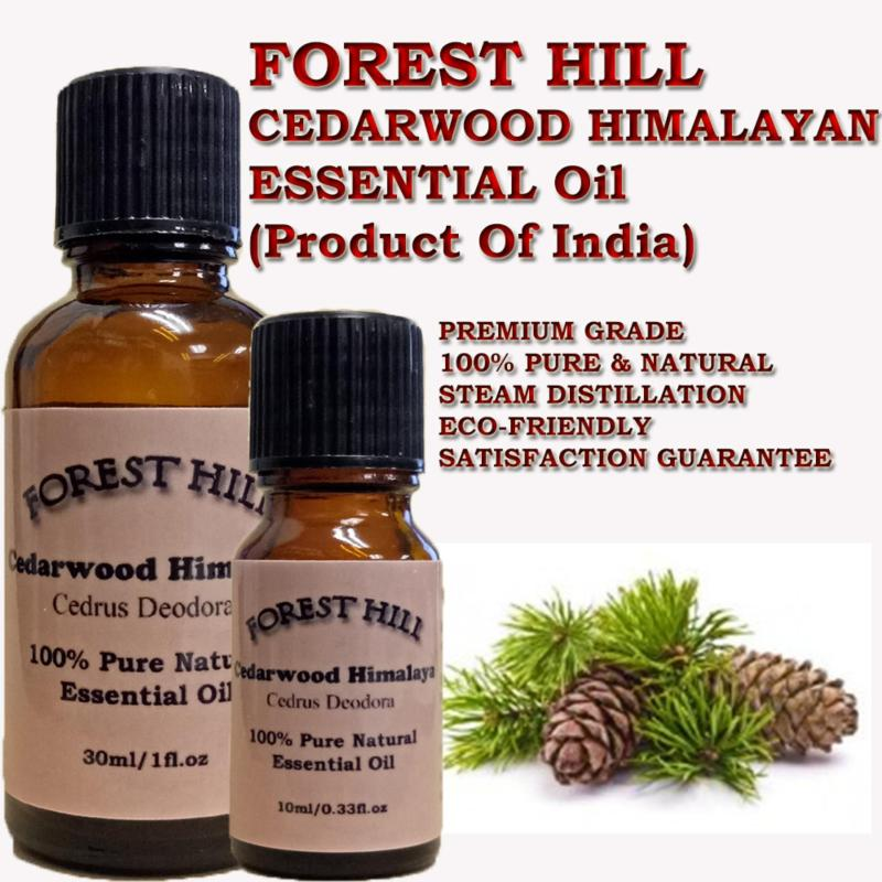 Buy Forest Hill 100% Pure & Natural Cedarwood Himalayan Essential Oil 30ml - Product Of India Singapore