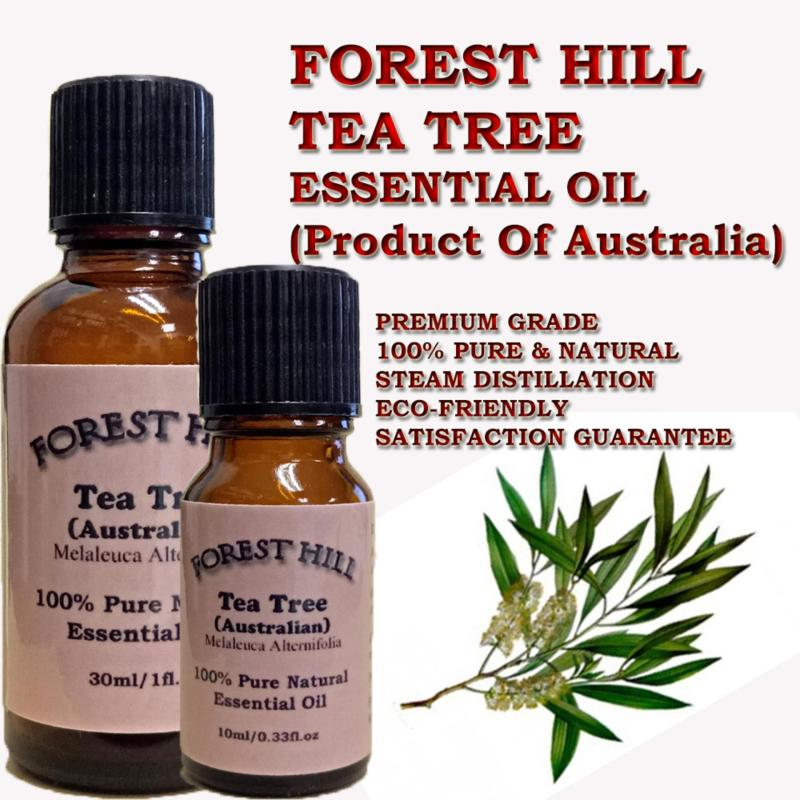 Buy Forest Hill 100% Pure & Natural Tea Tree Essential Oil 30ml - Product Of Australia Singapore