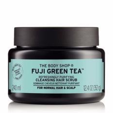 Buy The Body Shop Fuji Green Tea™ Refreshingly Purifying Cleansing Hair Scrub 240Ml The Body Shop Online