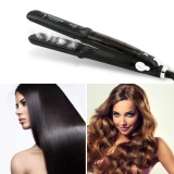 Sale Gift Professional Dual Use Ceramic Vapor Steam Hair Straightener Hair Styling Tool Black Uk With Package Box Intl Goft