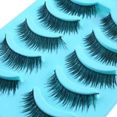 Girl Cross Natural Eye Lashes Extension Long Fake False Eyelashes Thick Beauty - Intl By Simida Limited.