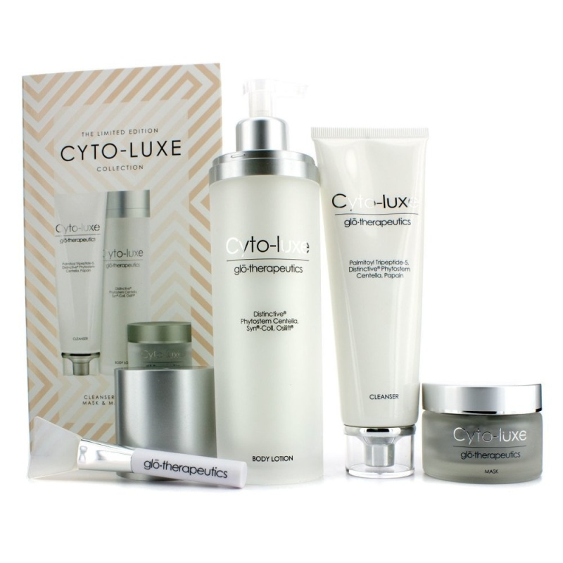 Buy Glotherapeutics CytoLuxe Collection Limited Edition: Body Lotion Cleanser Mask Mask Applicator Singapore