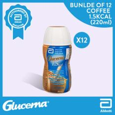 Price Glucerna Plus 1 5Kcal Coffee Flavor 220Ml Bundle Of 12 On Singapore