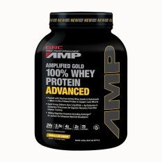 Review Gnc Pro Performance® Amp Gold 100 Whey Protein Advanced 4 9 Lbs Vanilla Ice Cream Gnc On Singapore