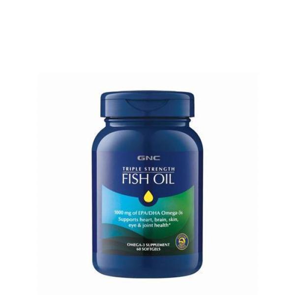 Buy GNC Triple Strength Fish Oil 60 Softgels Exp Aug 2022 Singapore