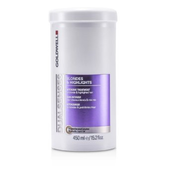 Goldwell Dual Senses Blondes And Highlights Intensive Treatment For Blonde And Highlighted Hair Salon Product 450Ml 15 2Oz Export Shop