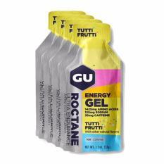 Price Gu Roctane Tutti Frutti 4 Pack Gu Energy