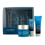 Top Rated H2O Face Oasis Daily Hydration System Hydrating Treatment 50Ml Exfoliating Cleanser 30Ml Eye Moisture Replenishing Treatment 7Ml For Normal Oily Skin 3Pcs Export