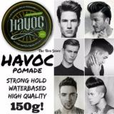Havoc Waterbased Hair Styling Pomade 150Ml Strawberry Scent Easy Washable Strong Hold High Shine Lower Price