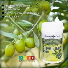 Discount Healthy Care Olive Leaf Extract 3000Mg Healthy Blood Pressure 100 Capsules Healthy Care