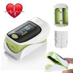 Latest Hetu Finger Tip Pulse Oximeter Pr Heart Rate Blood Oxygen Spo2 Monitor Intl