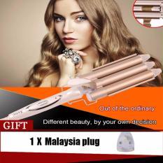 Wholesale High Quality Professional Hair Curling Iron Ceramic Triple Barrel Hair Curler Hair Waver Styling Tools Hair Styler Intl