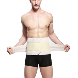Lowest Price Hot Men Abdomen Shaper Waist Tummy Cincher Trimmer Girdle Belt Burn Fat Slimming Khaki M