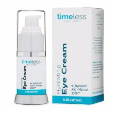 Buy Hydrating Hyaluronic Acid Eye Cream By Timeless Skincare Usa 15Ml Timeless Skin Care Cheap