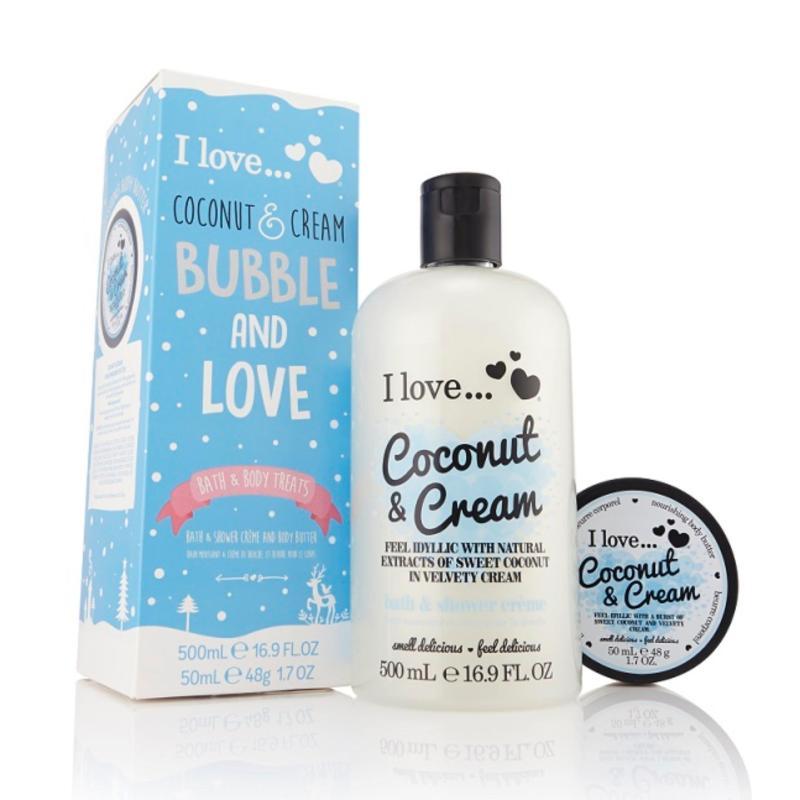 Buy I Love Bubble and Love Coconut & Cream Singapore