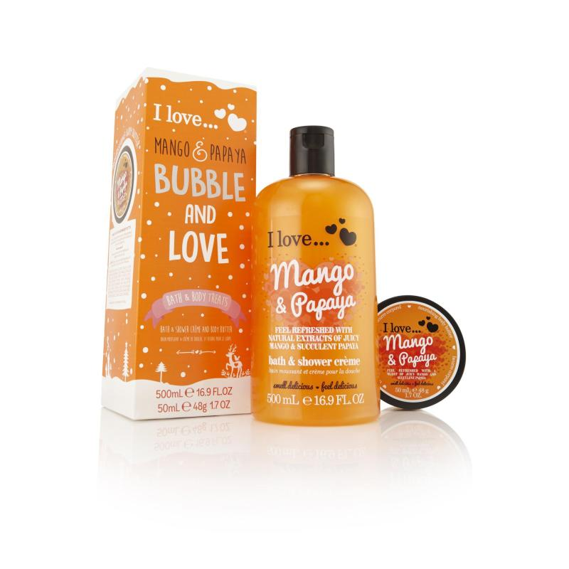 Buy I Love Bubble And Love Mango And Papaya Singapore
