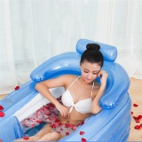 Best Offer Inflatable Bath Tub Pvc Portable *D*Lt Bathtub Bathroom Spa With Air Pump Intl