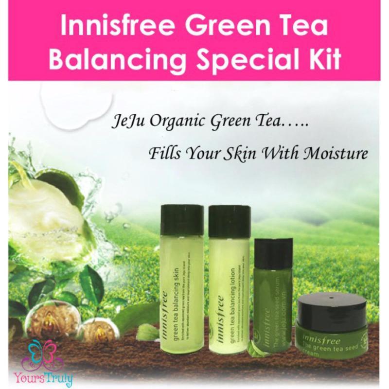 Buy innisfree Green Tea Balancing Special Kit Singapore