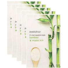 Innisfree Its Real Squeeze Mask Bamboo 10Pcs Compare Prices