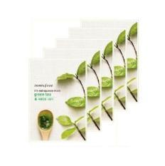 Latest Innisfree Its Real Squeeze Mask 20Ml Green Tea 10Pcs