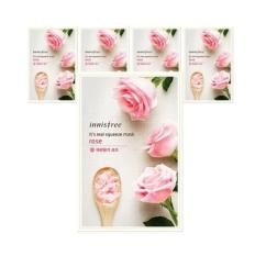 Promo Innisfree Its Real Squeeze Mask 20Ml Rose 10Pcs