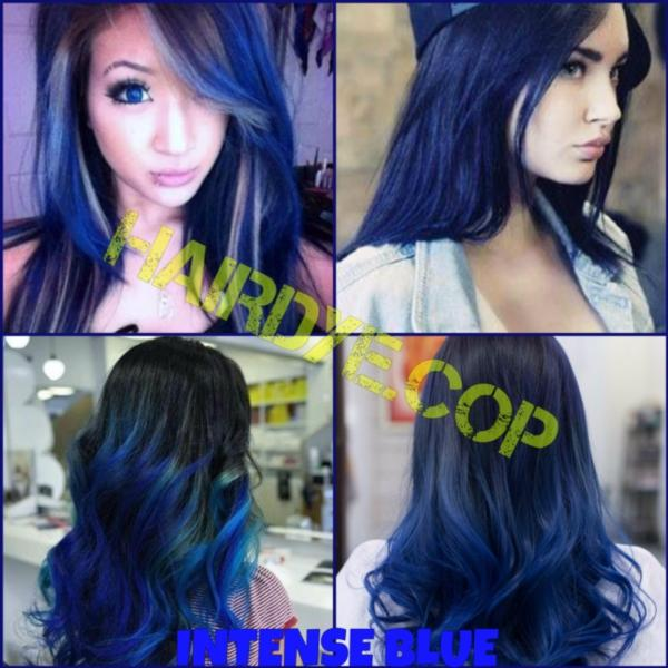 Buy Intense Blue/Dark Blue Hair Dye Color Singapore