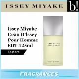 List Price Issey Miyake L Eau D Issey Men Edt 125Ml Tester Issey Miyake