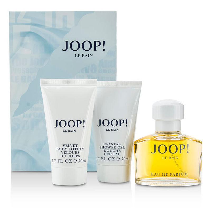 Buy Joop Le Bain Coffret: Eau De Parfum Spray 40ml/1.35oz + Body Lotion 50ml/1.7oz + Shower Gel 50ml/1.7oz 3pcs    (Intl) Singapore
