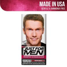 Buy Just For Men Shampoo In Hair Color Medium Brown Just For Men Cheap