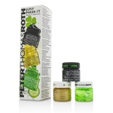 Latest Just Mask It Kit Irish Moor Mud Purifying Black Mask 15Ml 24K Gold Mask 15Ml Cucumber Gel Mask 15Ml Intl