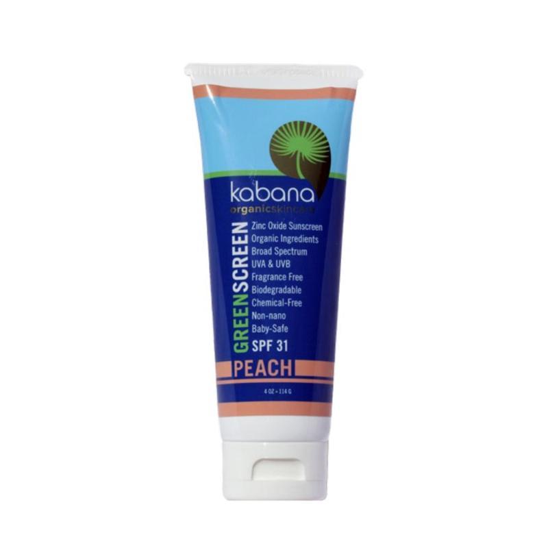 Buy Kabana Organic Sunscreen SPF 31 - Peach 118ml Singapore