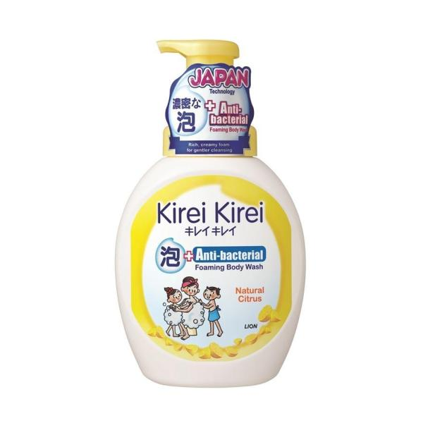 Buy Kirei Kirei Anti-Bacterial Foaming Body Wash 900ml (Natural Citrus) Singapore