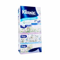 Kleenex 2-Ply Facial Tissue Garden 5x150sheets. By Kimberly Clark Official Store.