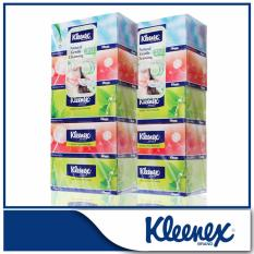 Kleenex 3-Ply Facial Tissue Natural Box 5x100sheets X 2 By Kimberly Clark Official Store.