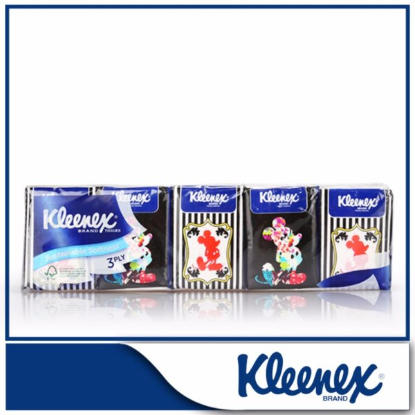 Kleenex Hankey Pack 3-Ply Facial Tissue 6x9sheets