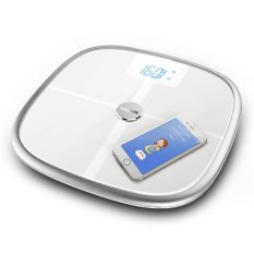 Koogeek Bluetooth & Wi-Fi Smart Health Scale Measures Muscle Bone Mass Bmi Bmr And Visceral Fat Weight Body Fat (export) By Tomtop.