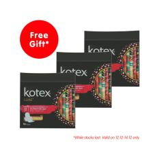 Kotex Pads Luxe Ultra Thin Wing 23Cm 16Pcs X 3 Packs Price Comparison