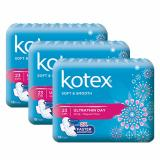 Shop For Kotex Pads Soft Smooth Ultrathin Day 23Cm 18Pcs X 3 Packs