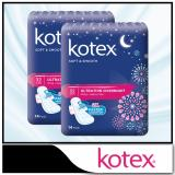Best Price Kotex Pads Soft Smooth Ultrathin Overnight 32Cm 14 Pcs X 2 Packs