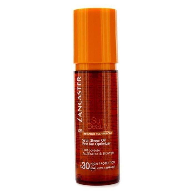 Buy Lancaster Sun Beauty Satin Sheen Oil Fast Tan Optimizer SPF30 150ml/5oz - intl Singapore