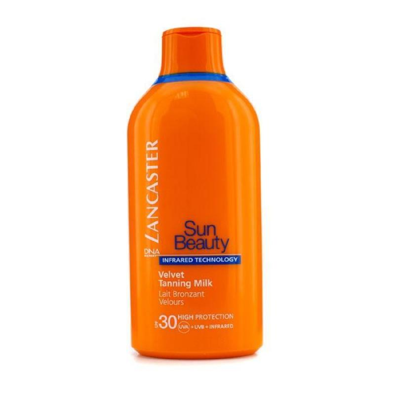 Buy Lancaster Sun Beauty Velvet Tanning Milk SPF30 400ml/13.5oz - intl Singapore