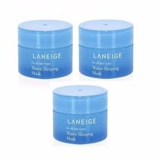 Compare Price Laneige Water Sleeping Mask 15Ml 3 Bundle On Singapore